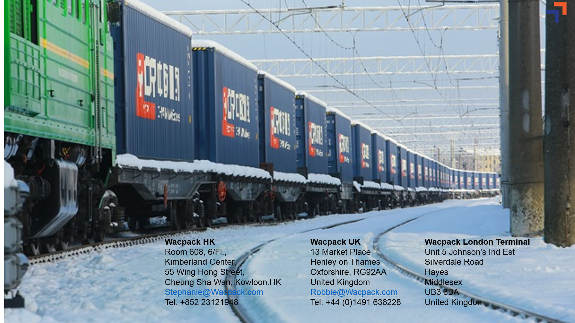 Rail Freight from China